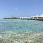  Sea and over water bungalows