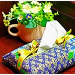 Beautiful handmade napkin box