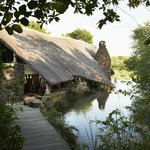  The Entrance to Singita Boulders Lodge