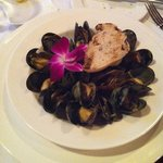PEI mussels with thai curry sauce