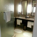 Loved our bathroom!  Plenty of room for 2-3 people to get ready at the same time.  There is also