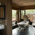  Singita Ebony Lodge Suite Bathroom