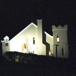  Sideview of Rossmore Manor at night