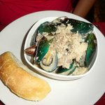 mussels in white wine sauce #win