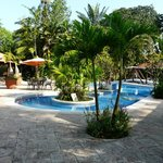  The pool, bar &amp; restaurant area