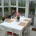  The dining-table where you can meet and speak with............