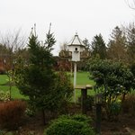 birdhouse and gardens