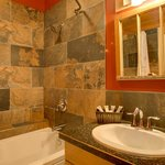 Deer Lodge - renovated bathroom 2013