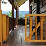  Deer Lodge, gate to close in the deck area, added 2012