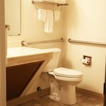 Mayville Inn Handicap Accessible Bathroom