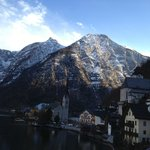 Picture from the balcony of Pension Sarstein