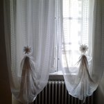  The quaint curtains