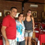 D. Eliane, dona do restaurante!!!