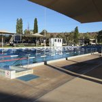 Outdoor 50m lap pool