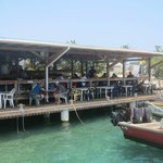  View of restaurant from pier