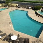 Something for everybody-pool for little ones- hot tub! Lots of places to eat or lounge!