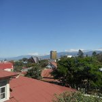  view from our room of San Jose, Costa Rica