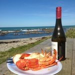 amazing crayfish I brought the wine