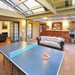 Entertainment area at Gracehill Accommodation