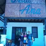  We stayed at Villa Ana just a minute away from the beach.