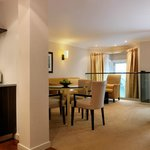  Open plan Reception and Dining in this One Bedroom Duplex Apartment