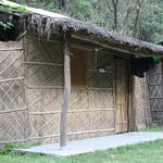 Huts at rishikesh valley