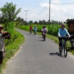 RIding back roads of Ubud, Bali