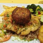  Wahoo and Crab Cake Special