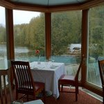  Millcroft Inn and Spa - Dining overlooking the Mill &quot;Race&quot;