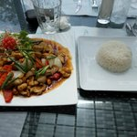  cashew nut chicken, best in patong/ever