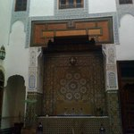  particolare dell&#39;interno del riad