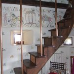  Escalier pour accder  la chambre