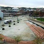 Tacoma view from Courtyard Marriott Rm 401