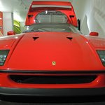 LeMay: Ferrari F40 flush against a wall