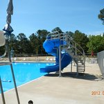 public swimming pool at Petit Jean State Park