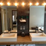  Double sink unit in the No. 10 Penthouse Suite