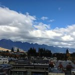  View from the balcony of the No. 10 Penthouse Suite - The Remarkables