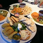 Mix of several different Latin American cuisines