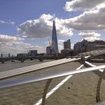 Bridges in London . Millenium Bridge