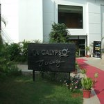  The entrance of La Calypso