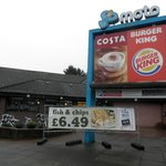 Costa and Burger King billboards
