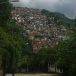  View of a Favela - Rio