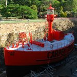 Lightship Carpentaria in Brisbane's Maritime Museum