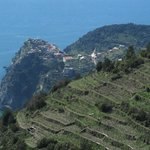 Corniglia from the path to Manarola
