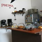 The Pinemma coffee shop