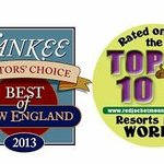 Proud recipient of Yankee Magazine Best Family Resort NE