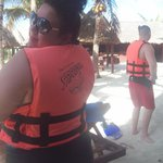Just Me in my life vest :)