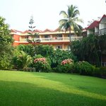 Resort property - view from the pool side lawn