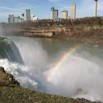 Rainbow in the mist of Falls.