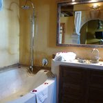 The bathroom in our room - Berbere